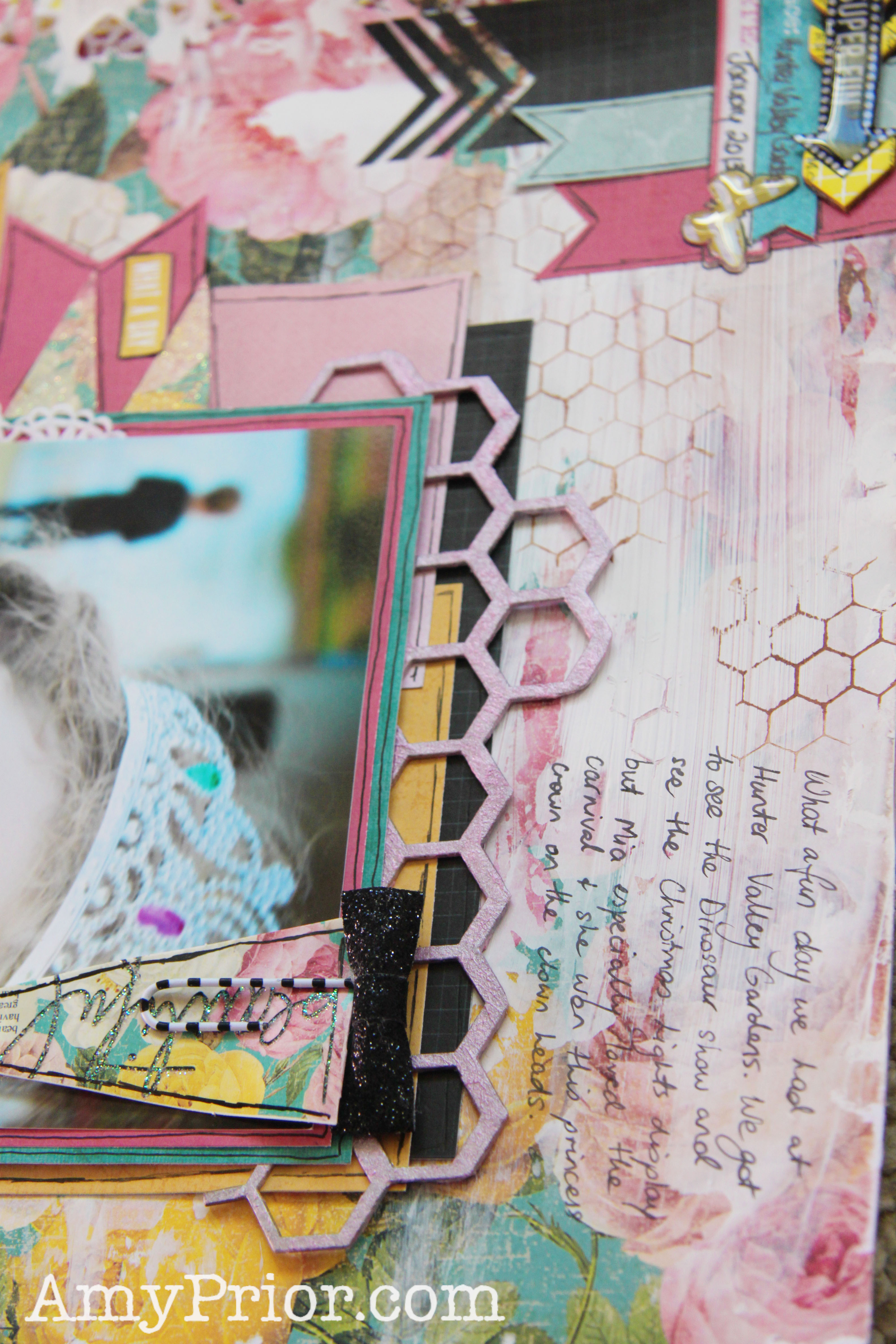 Scrapbooking From Scratch May Sketch Challenge Amy Prior